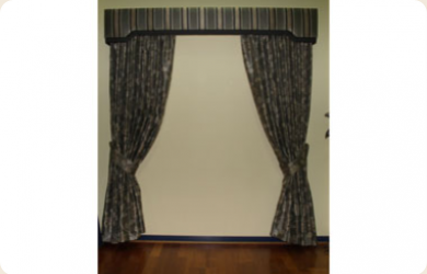 Padded Curtain Pelmets In Melbourne